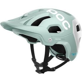 POC Tectal Race Spin Helmet apophyllite green/hydrogen white matt